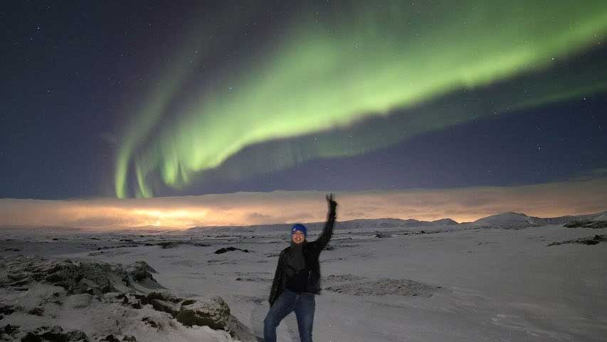 Alden Richards Visits Iceland