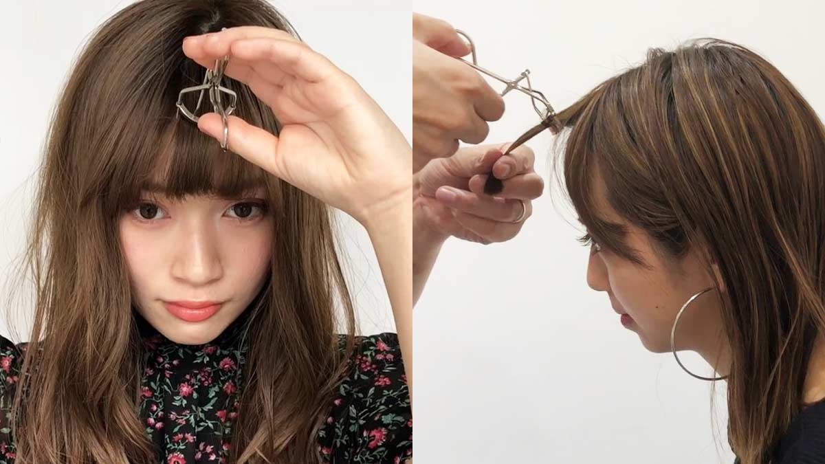 How To Style Bangs Without Heat
