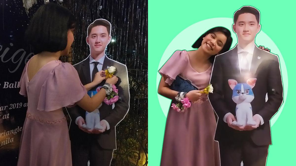 EXO Fan Brings K-Pop Standee To Prom