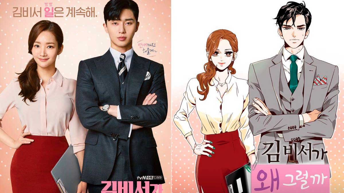 Korean Dramas Based On Webtoons And Manhwas