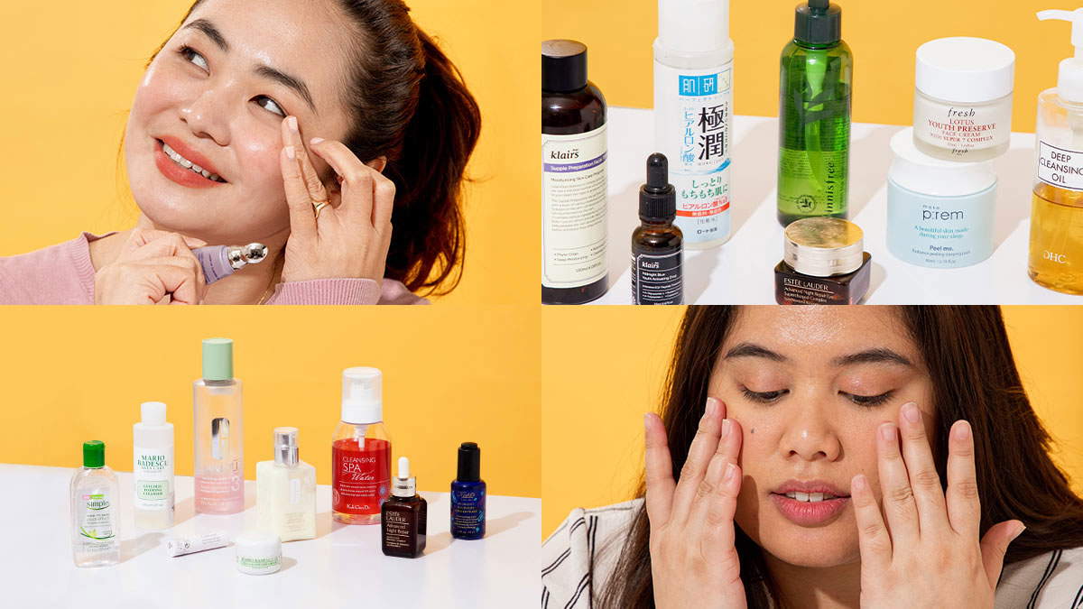 Nighttime Skincare Routines Of Pinays With Oily Combination Dry Skin