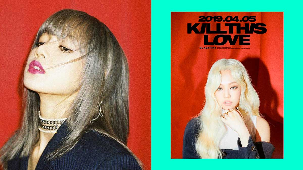 BLACKPINK Comeback Teaser Posters For Kill This Love