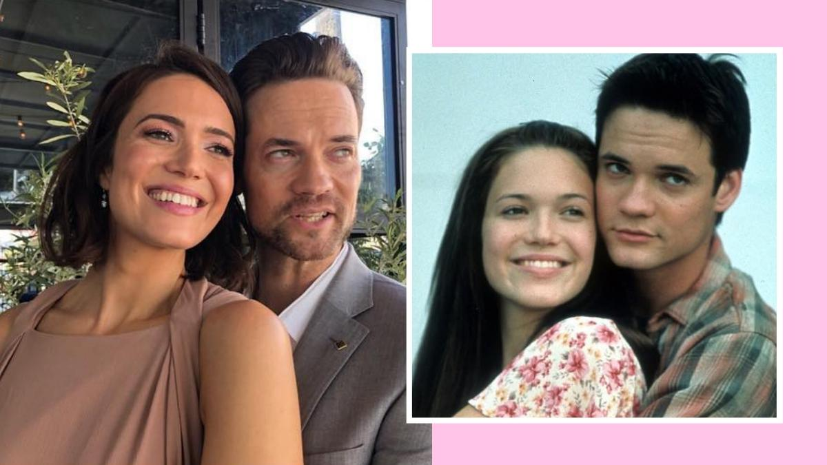 Mandy Moore And Shane West Reunite At Hollywood Walk Of Fame