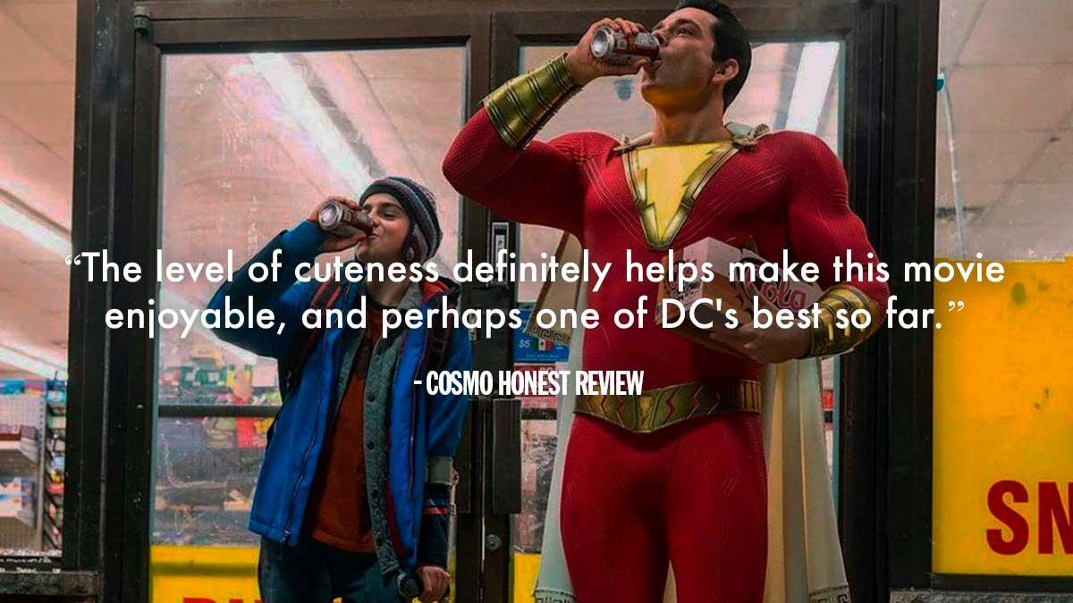 Movie Poster 2019: Movie Review Of Shazam