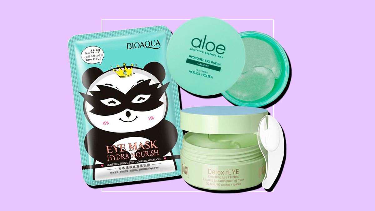 7 Eye Masks And Eye Gel Patches For Eye Bags And Dark Circles