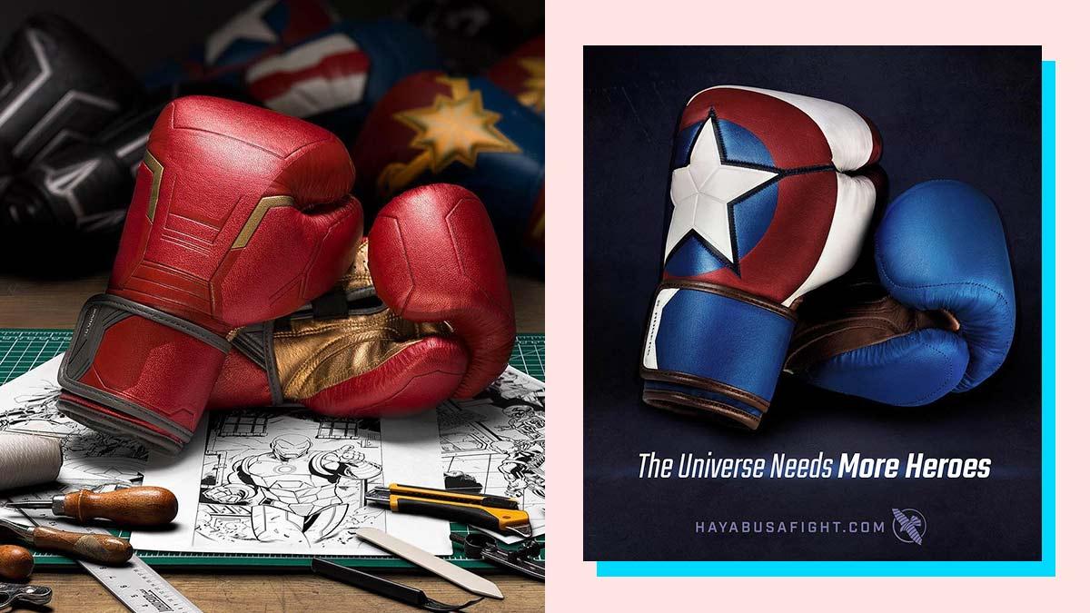 Hayabusa Marvel Iron Man Boxing Gloves