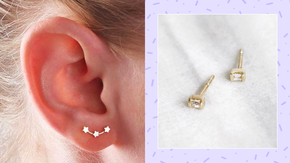 Tiny Minimalist Earring Studs In The Philippines Price List