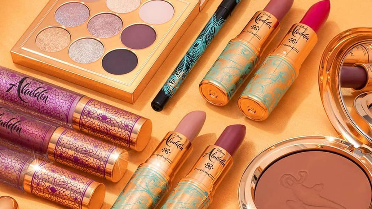 Mac Cosmetics Disney Aladdin Collection Products And Pricelist