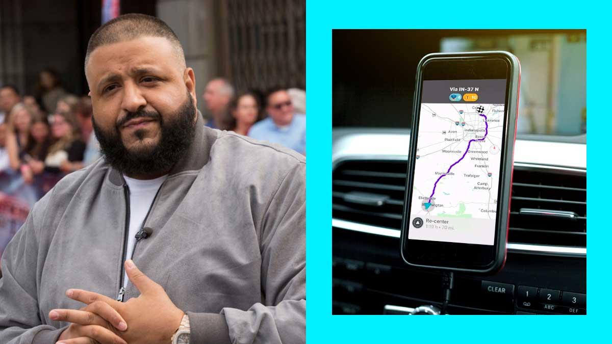 DJ Khaled Is The Newest Voice On Waze