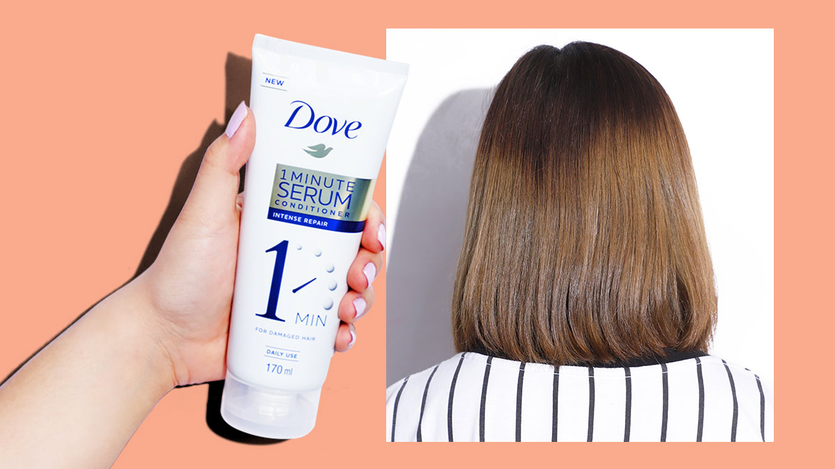 Dove 1 Minute Serum Conditioner Review And Price