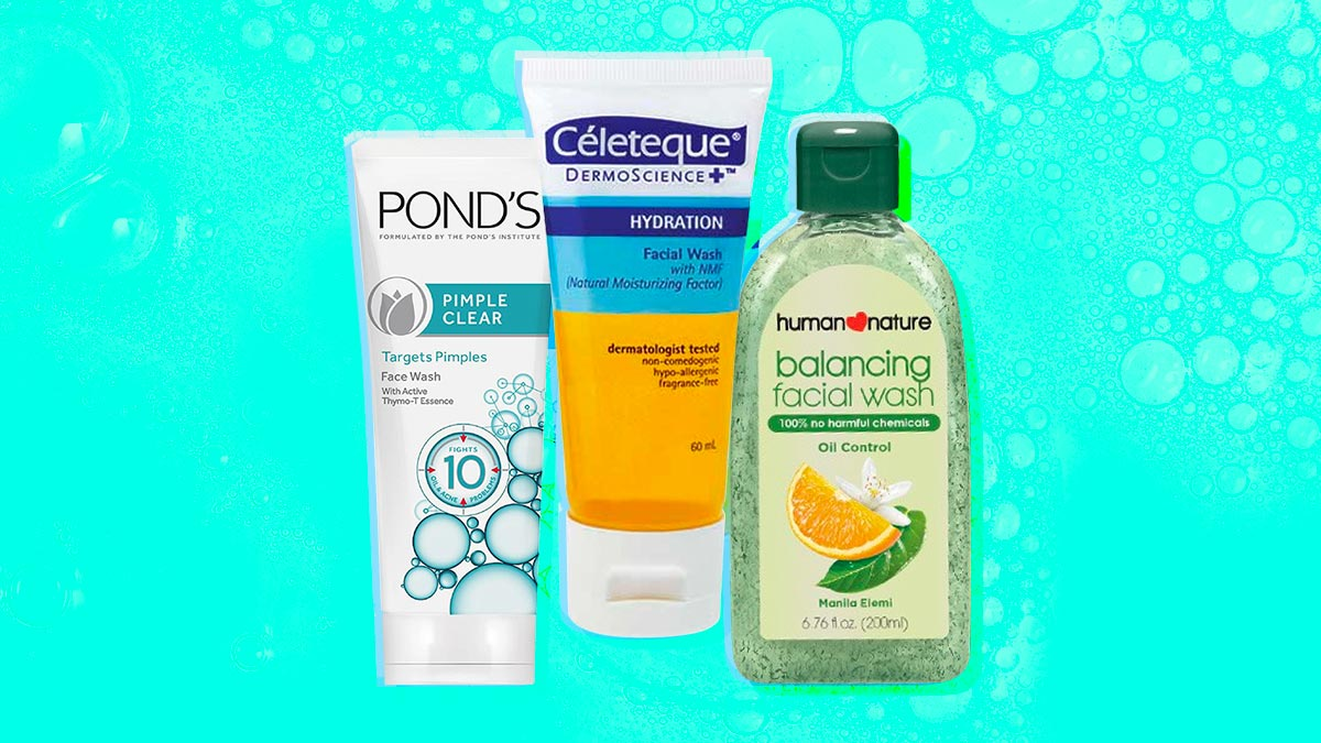 Best Facial Cleansers Under P500