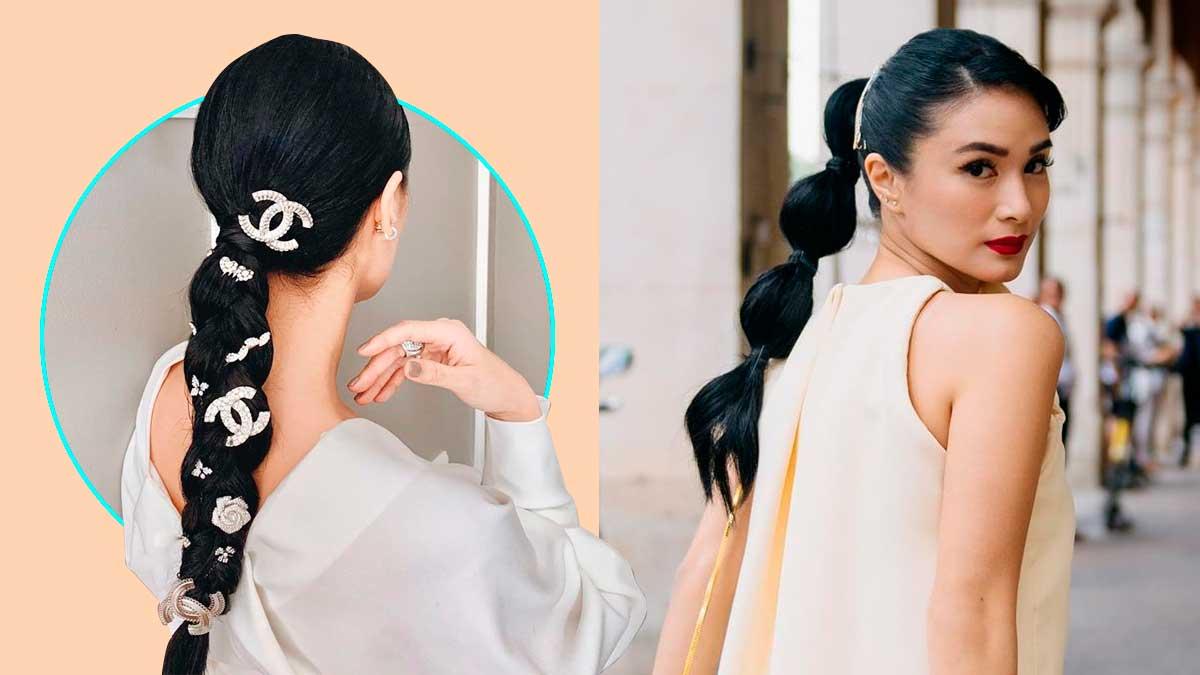 Heart Evangelista S Stylish Ponytail Hairstyles