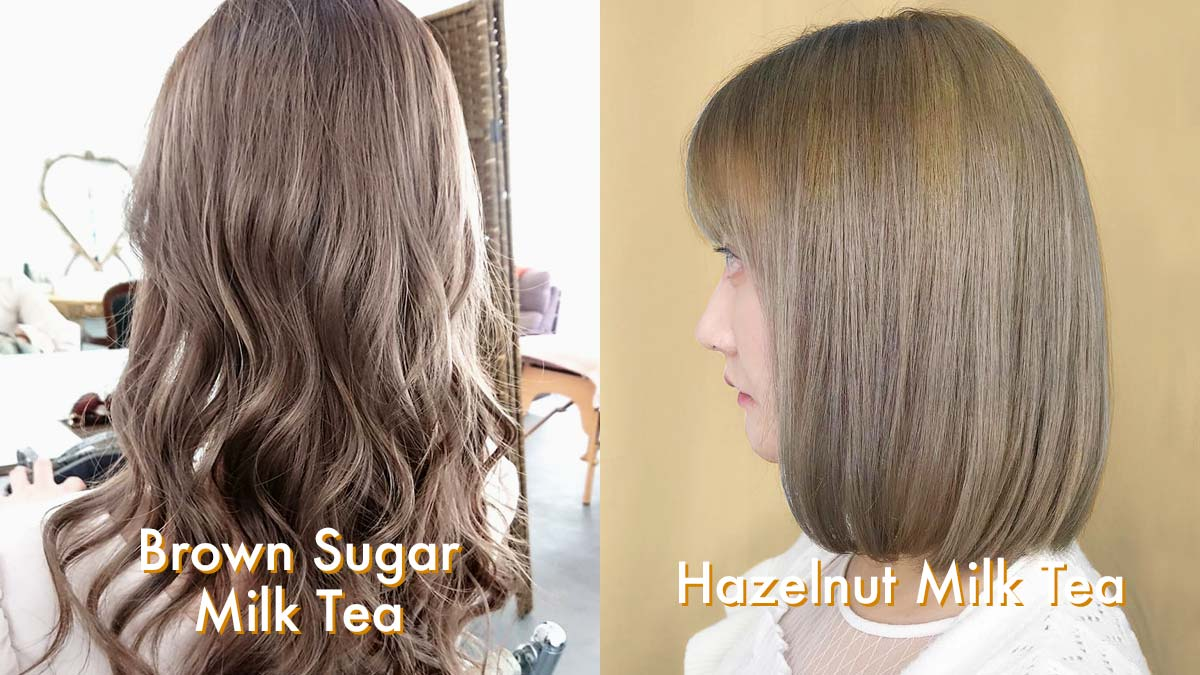 15 Milk Tea Hair Color Ideas To Copy