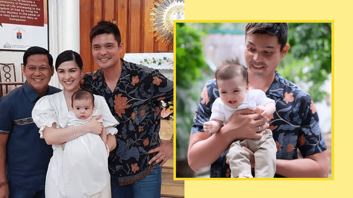 Marian Rivera And Dingdong Dantes' Son Baby Ziggy Gets ...