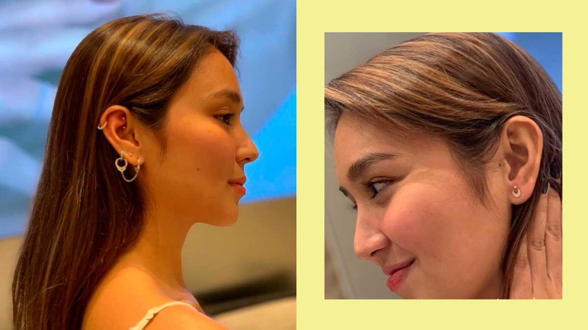 Kathryn Bernardo Gets New Ear Piercing In Dubai