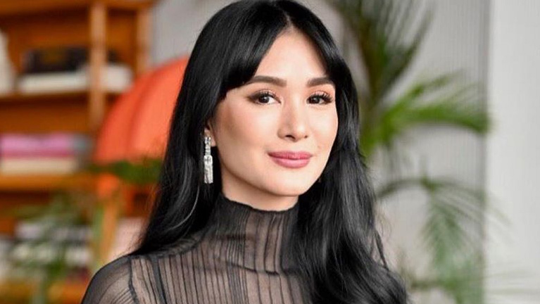 Heart Evangelista Gets A New Look With Full Bangs