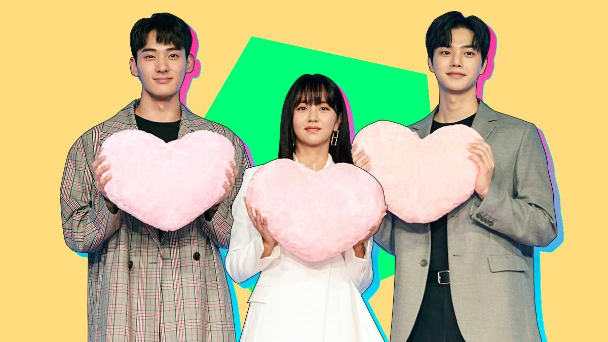 Netflix K-Drama Love Alarm Press Con And Interview In Seoul