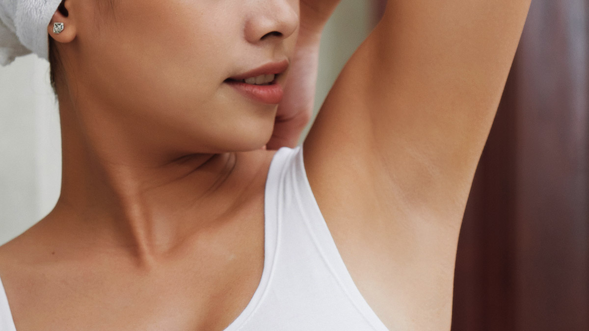 Using Toner To Brighten Underarms