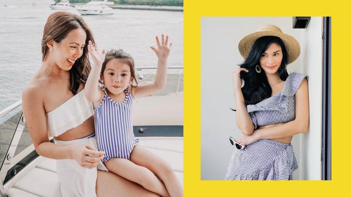 Andi Manzano's Daughter Olivia Meets Pia Wurtzbach