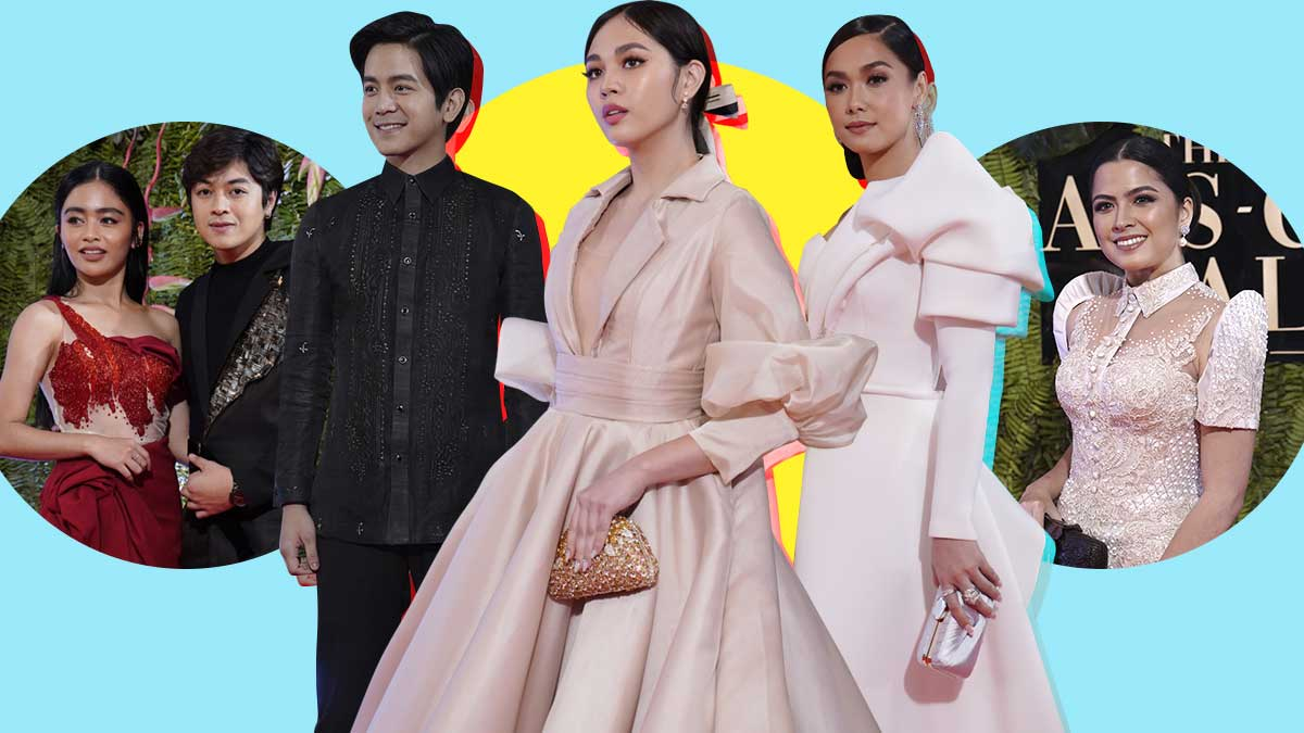 The Killer Bride Cast At The 2019 ABS,CBN Ball Red Carpet