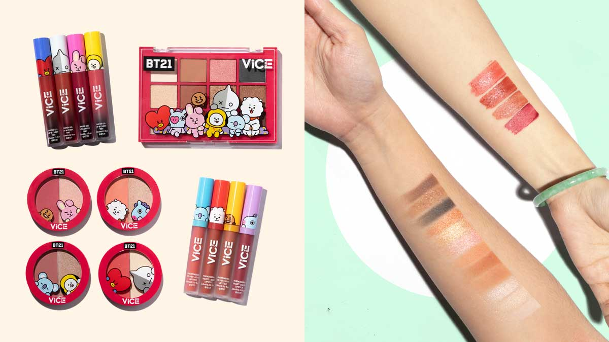 Vice Cosmetics X Bt21 Collection
