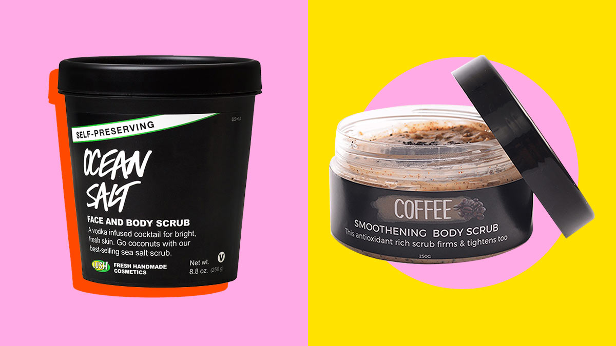 Body Scrubs For Brighter More Even Skin