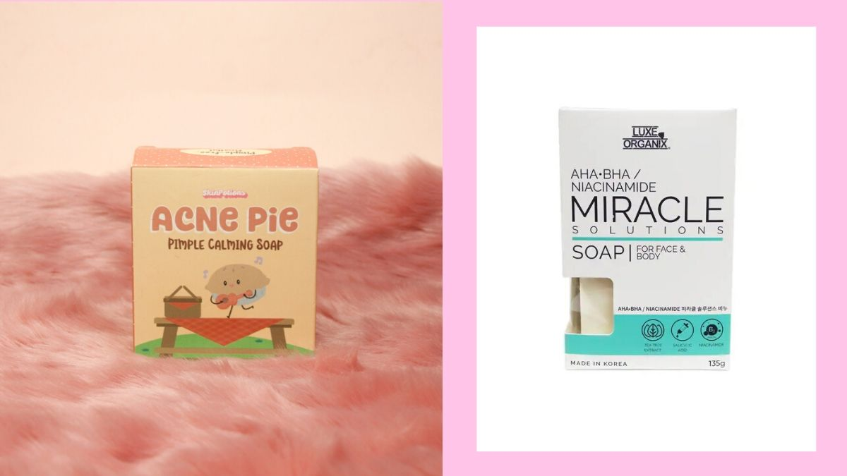 Bar Soaps Under P250 For Acne Free Skin