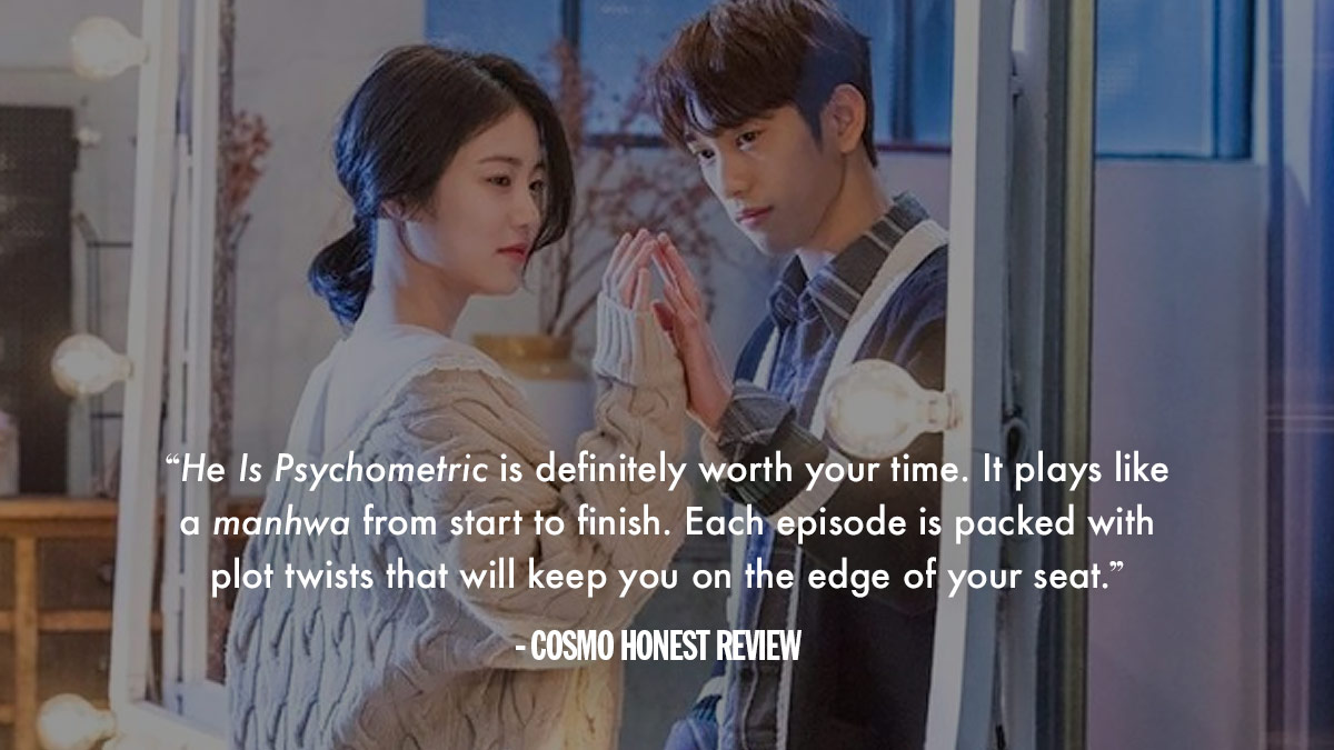K Drama Review Of He Is Psychometric While he does not know how to control his power yet, he meets yoon jae in who tries her best to hide her painful secrets. cosmo ph