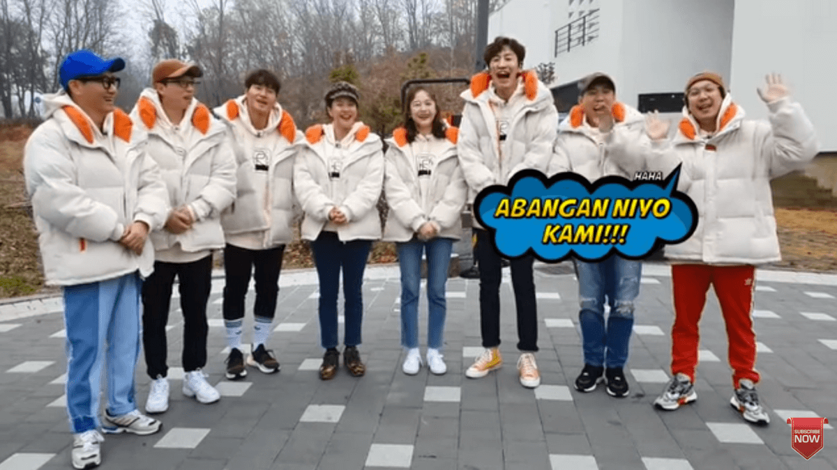 Cast Of Korean Variety Show Running Man Headed To The Philippines