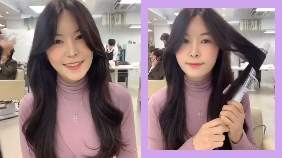 How To Korean S Curl Hairstyle