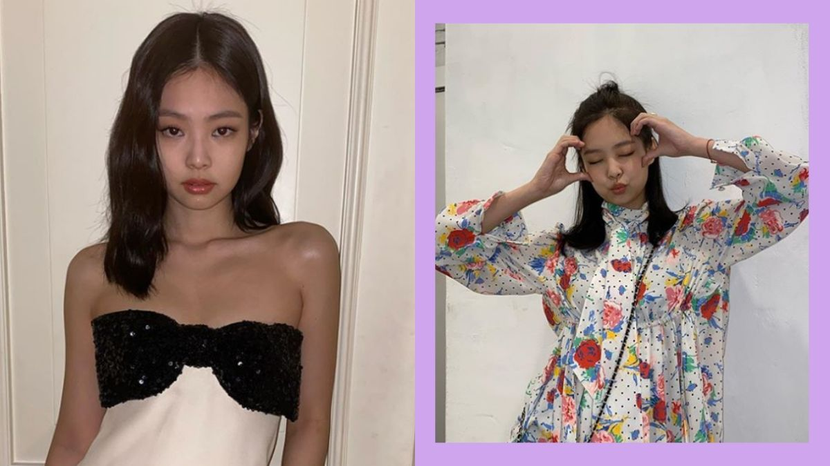 Blackpink Jennie Lob Shoulder Length Hairstyles