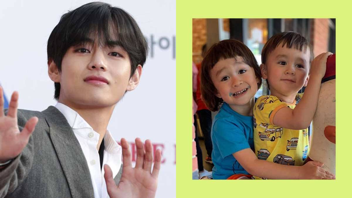 Bts V Watches The Return Of Superman And Is A Fan Of William And Bentley