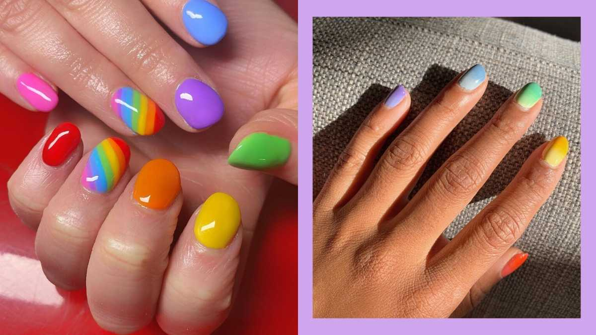 Rainbow Nail Designs To Try In 2020