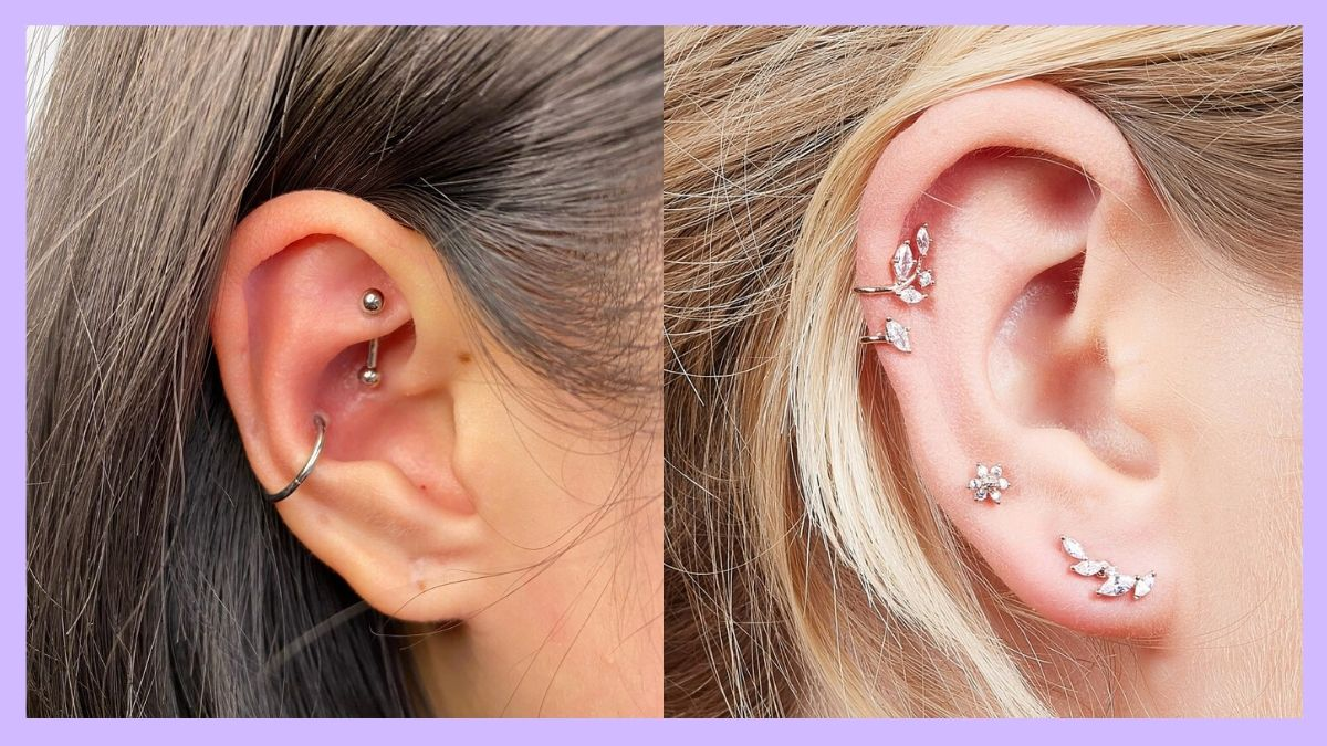Ear Piercing Types How Painful How Fast To Heal