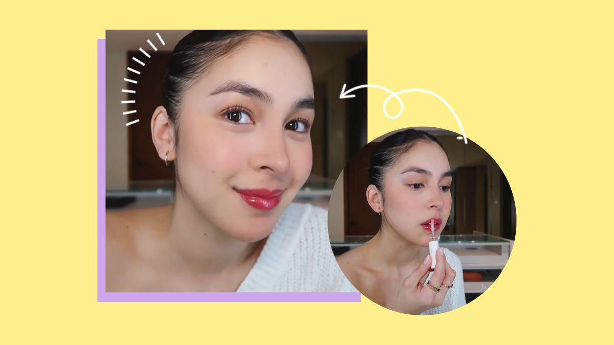 Julia Barretto Work From Home Makeup Look