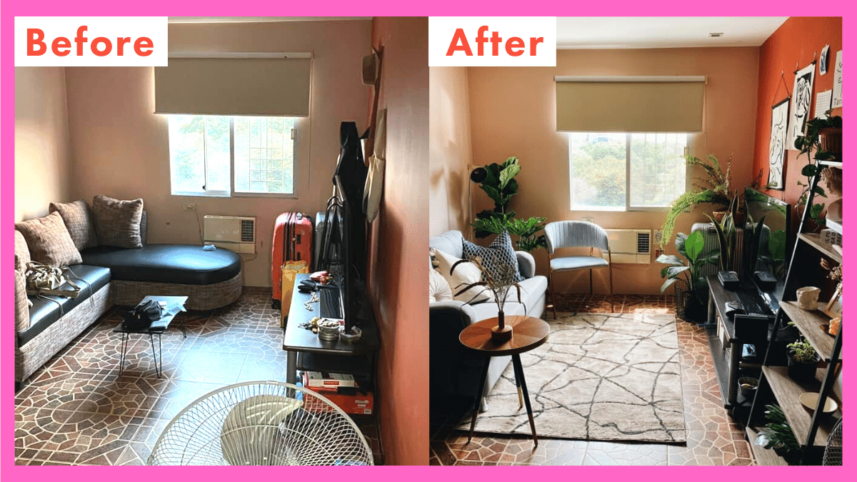 Image of: Before And After Photos Of Gorgeous Room Makeovers