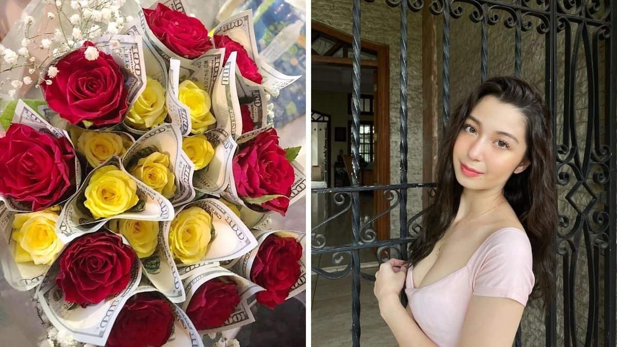 Donnalyn Bartolome Celebrates Mom S Birthday With Money Bouquet