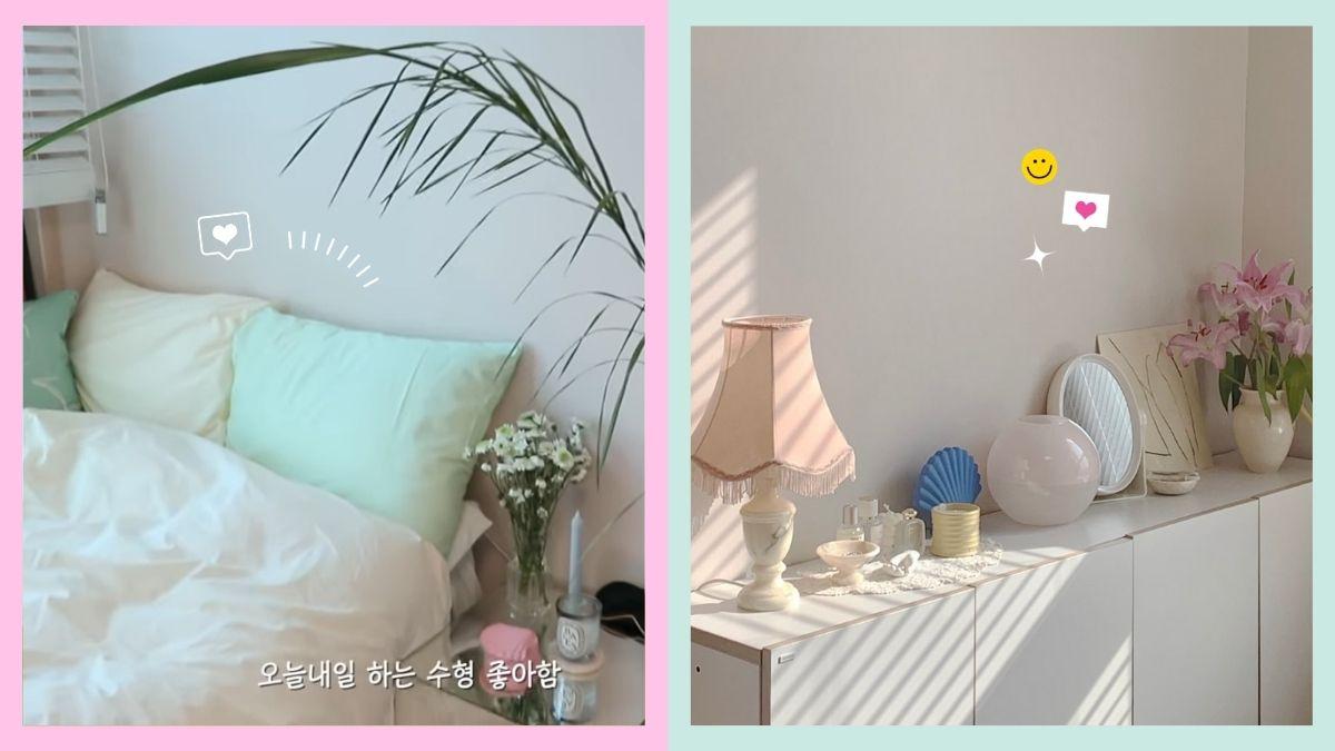 Easy Small Room Decor Korean Aesthetic