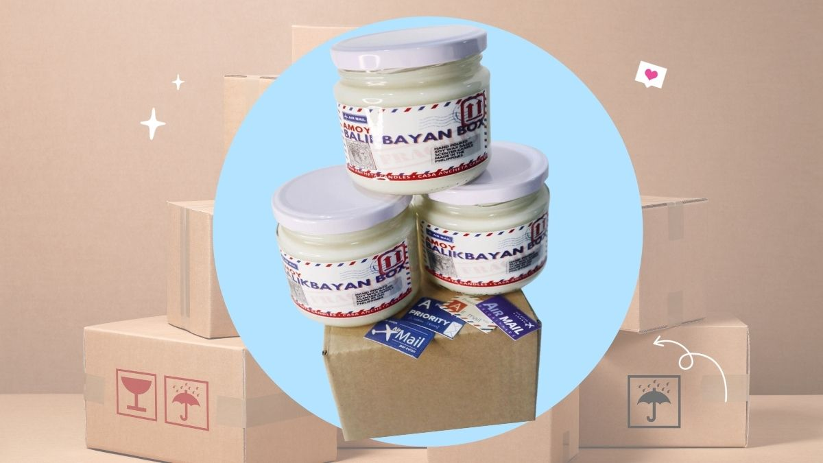 I Need This 'Amoy Balikbayan Box' Scented Candle ASAP Because It Is The Best Scent In The World