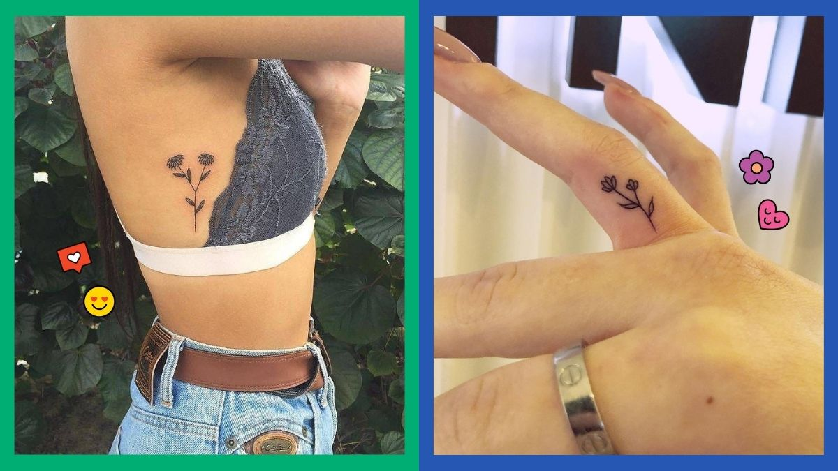 Best Small Flower Tattoo Designs To Try   Cosmo.ph