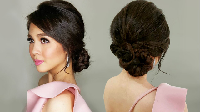 10 Beautiful Updo Hairstyles For Weddings 2019: 10 Beautiful Hairstyles For Bridesmaids