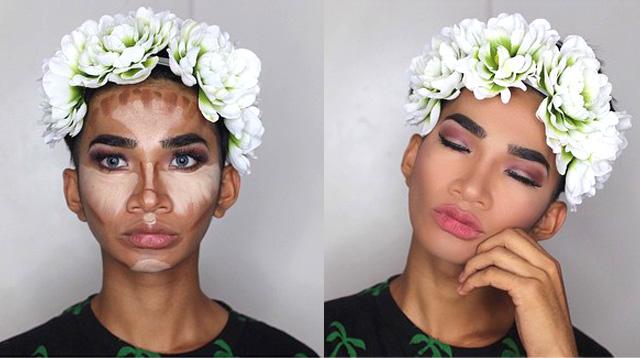 Guy Makes The Funniest Makeup Tutorials
