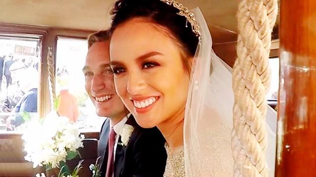 Heres A Peek Into Georgina Wilsons Wedding Cosmoph
