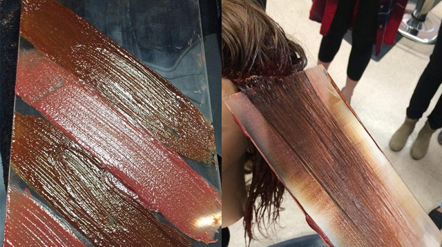 This New Hair Coloring Technique Involves Glass