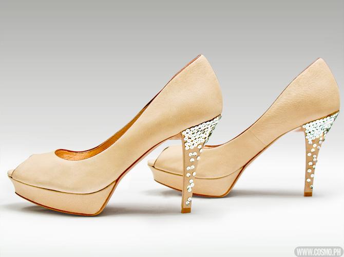 83b0e9a2fbdf DIY Shoe Makeover  Embellished Heels
