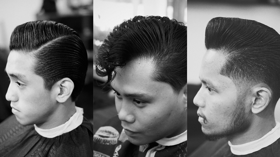Where To Get That Perfect Throwback Haircut Esquire Ph