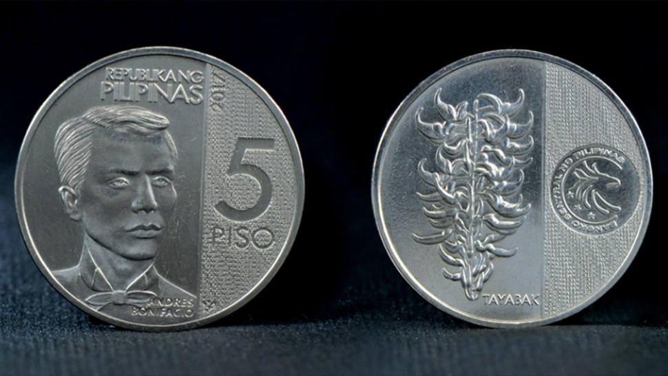 Andres Bonifacio Is On The New 5 Peso Coin