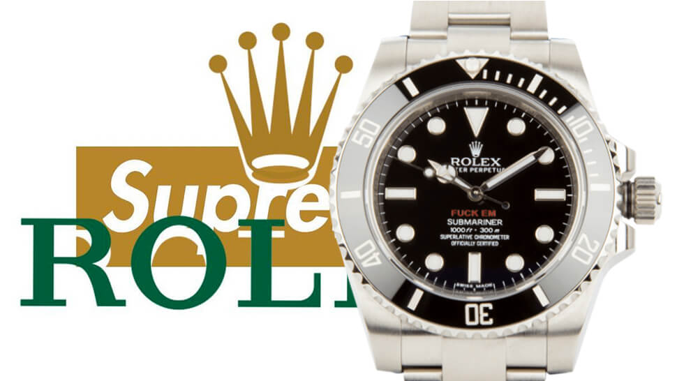 f49fb2b0c5be Rumors of a Supreme x Rolex Collab for 2018 Are Floating Around
