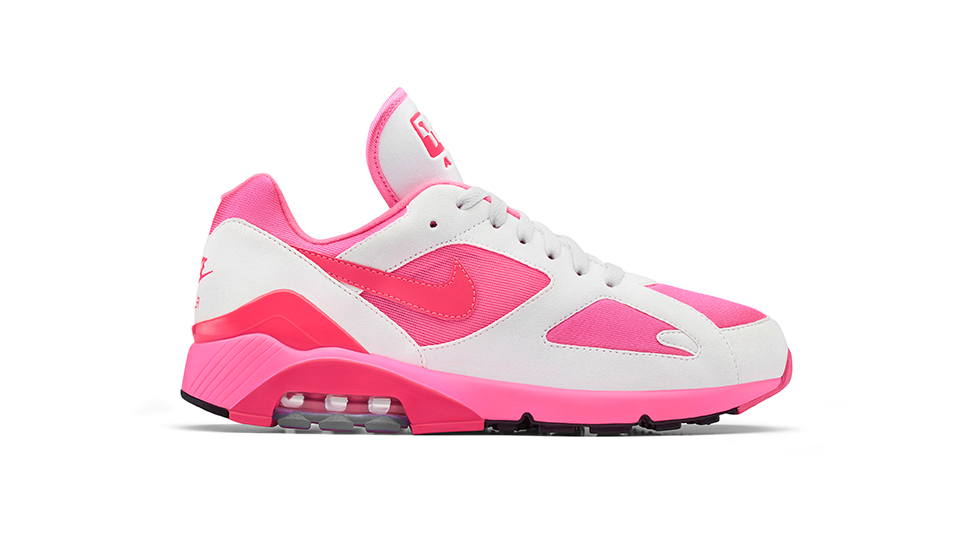 separation shoes 29a48 87306 The Comme des Garçons Homme Plus x Nike Air Max 180 is a Great Reason to  Wear Pink