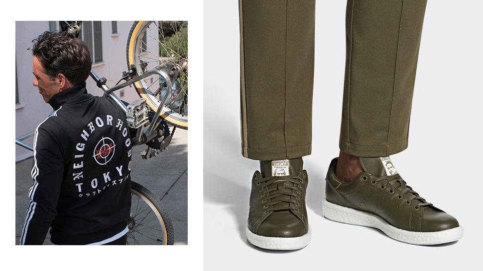 quite nice 11e8e 2c504 Military Colors Meet Streetwear Motifs in Adidas ...